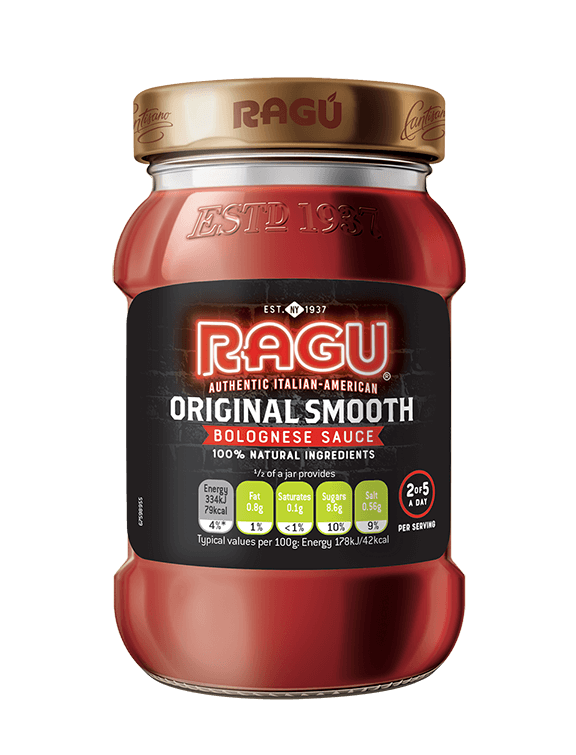 Original Smooth Ragu Bolognese Sauce