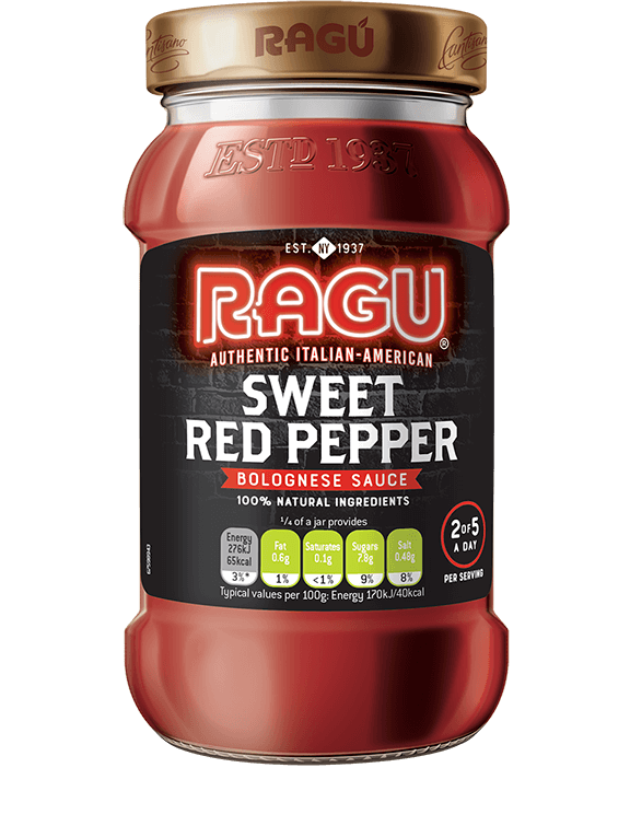 Sweet Red Pepper Ragu Bolognese Sauce